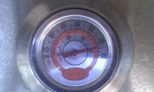Lämpötila 400 astetta